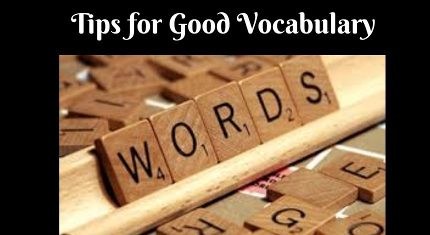 Quick tips for vocab